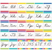 Creative Teaching Press Cursive Handwriting Alphabet Bulletin Board Set Painted Palette (CTP7056)