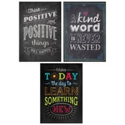 "Creative Teaching Press 19 x 13"" Be Your Best Poster Pack Chalk It Up! (CTP7485)"