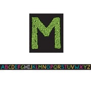 """Teacher Created Resources 12' x .75"""" Chalkboard Brights Alphabet Magnetic Strips (TCR77262)"""