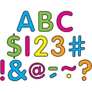 """Teacher Created Resource 2"""" Neon Brights Classic Letters Uppercase Pack (TCR5814)"""
