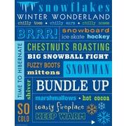 "Teacher Created Resources 22 x 17"" Winter Subway Art Chart (TCR7535)"