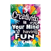 """Argus® 19 x 13"""" Creativity is Your Mind Poster (T-A67056)"""