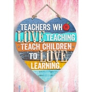 "Creative Teaching Press 19 x 13"" Teachers who love teaching Inspire U Poster (CTP7285)"