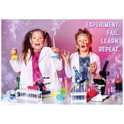 "Creative Teaching Press 19 x 13"" Experiment. Fail. Learn. Repeat. Poster (CTP7272)"