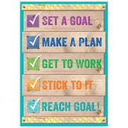 "Creative Teaching Press 19 x 13"" Set a goal Inspire U Poster (CTP7290)"