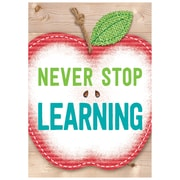"Creative Teaching Press 19 x 13"" Never stop learning. Inspire U Poster (CTP7289)"