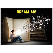 "Creative Teaching Press 19 x 13"" Dream big. Poster (CTP7268)"