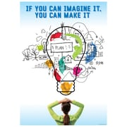 "Creative Teaching Press 19 x 13"" If you can imagine it... Poster (CTP7267)"