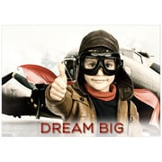 "Creative Teaching Press 19 x 13"" Dream big. Poster (CTP7262)"
