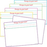 Teacher Created Resources, Smart Start Magnetic Dry Erase Boards, Set of 5 (TCR77252)