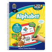 Teacher Created Resources Paperback, Power Pen Learning Book: Alphabet(TCR6918)
