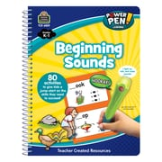 Teacher Created Resources Paperback, Power Pen Learning Book: Beginning Sounds