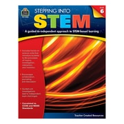 Teacher Created Resources, Stepping Into STEM Grade 6, Paperback (TCR3980)