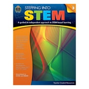 Teacher Created Resources, Stepping Into STEM Grade 3, Paperback (TCR3869)