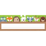 Creative Teaching Press, Woodland Friends Name Plate, Pack of 36 (CTP4400)