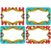 Teacher Created Resources, Carnival Name Tags/Labels Multi-Pack, Pack of 36 (TCR5709)