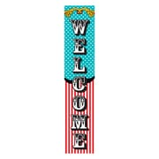 """Teacher Created Resources, Carnival Welcome Banner 8""""x39"""" (TCR5805)"""