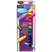 Sargent Art Tempera Stick Ages 3+, 2 Count of 12 Paint Sticks Per Order(SAR932112)