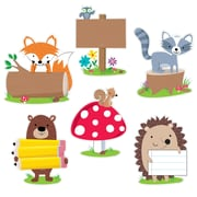 "Creative Teaching Press 10"" Woodland Friends, Assorted Colors (CTP7048)"