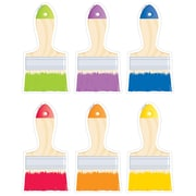 """Creative Teaching Press 6"""" Paintbrushes,  Assorted Colors (CTP5958)"""