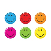 "TREND 3"" Smiley Faces, Assorted Colors (T-10874)"