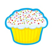 "TREND 3"" Confetti Cupcake, Multi-Colored (T-10405)"