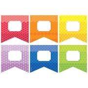 "Creative Teaching Press 3"" Rainbow Pennants, Assorted Colors (CTP0823)"