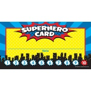 Teacher Created Resources Superhero Punch Cards Multi-Colors 60 Cards Per Pack (TCR5608)