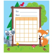 Creative Teaching Press Woodland Friends Incentive Chart Multi-Colored 36 Charts Per Pack (CTP1724)