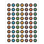 Teacher Created Resources Space Stickers Assorted Colors 378 Mini Stickers Per Pack (TCR5856)
