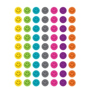 Teacher Created Resources Bright Happy Faces Stickers Assorted Colors 378 Mini Stickers Per Pack (TCR5839)