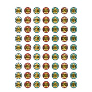Teacher Created Resources Carnival Stickers Assorted Colors 378 Mini Stickers Per Pack (TCR5719)