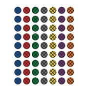 Teacher Created Resources Plaid Stickers Assorted Colors 378 Mini Stickers Per Pack (TCR5698)