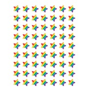 Teacher Created Resources Rainbow Stars Stickers Assorted Colors 378 Mini Stickers Per Pack (TCR5853)