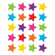 Teacher Created Resources Bright Stars Stickers Assorted  Colors 120 Stickers Per Pack  (TCR5796)