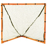 Champion Sports Backyard Lacrosse Goal & Net Orange Steel Tubing, Polyethylene Netting. Orange and Black (CHSLNGL)