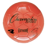 Champion Sports Extreme Size 4 Orange Soccer Ball  (CHSEX4OR)