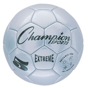 Champion Sports Extreme Size 5 Silver Soccer Ball  (CHSEX5SL)