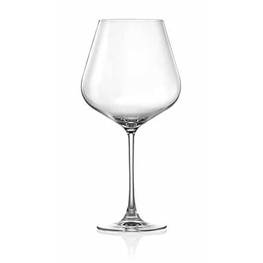 Lucaris Hong Kong Hip Burgundy Glass (Set of 4)