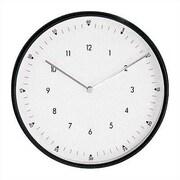 Peter Pepper 11.75'' Wall Clock; Black