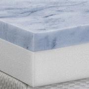 Anew Edit 4'' Gel Memory Foam Mattress Topper; Queen