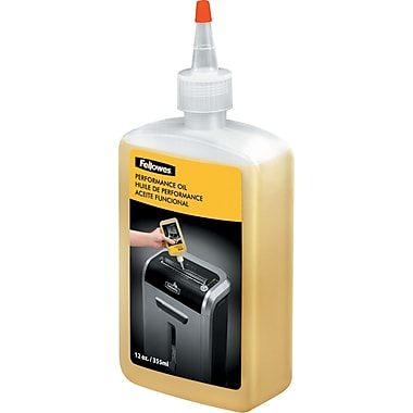Fellowes® Powershred® Shredder Oil & Lubricant, 12 oz (35250)