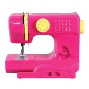Janome Portable Sewing Machine; Fast Lane Fuchsia