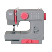 Janome Portable Mechanical Sewing Machine; Gaceful Gray