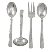 Ginkgo Mercury 4 Piece Hostess / Serving Set
