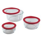 Pyrex Premium Glass Lids 6-Piece Storage Set