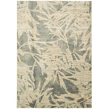 Calvin Klein Rugs Maya Borneo Zinc Area Rug; 5'3'' x 7'5''