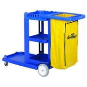 Continental Mfg. Co. Janitorial Utility Cart, w/ 25 Gallon Bag