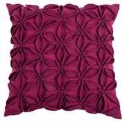 Wildon Home   Deniece Throw Pillow; Raspberry