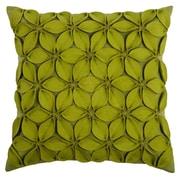 Wildon Home   Deniece Throw Pillow; Lime Green